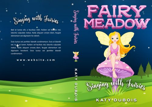 Fairy Meadow - Middle-grade Fantasy Series Premade Book Covers For Sale - Beetiful