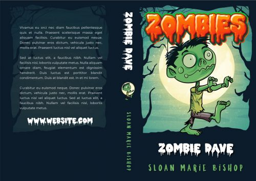 Zombies - Middle-grade Horror / Fantasy Series Premade Book Covers For Sale - Beetiful
