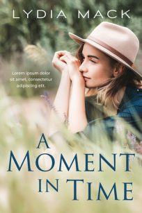 A Moment In Time - Women's Fiction Premade Book Cover For Sale @ Beetiful Book Covers