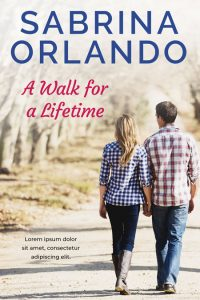 A Walk For a Lifetime - Contemporary Romance Premade Book Cover For Sale @ Beetiful Book Covers