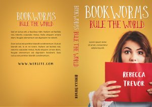 Bookworms Rule the World - Young Adult Premade Book Cover For Sale @ Beetiful Book Covers