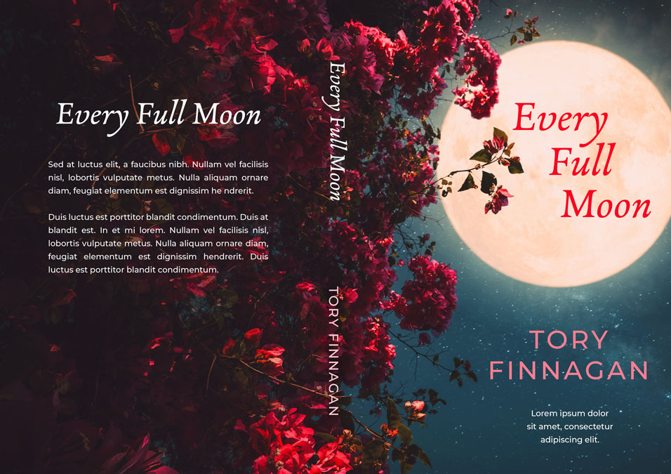 Every Full Moon - Fiction Premade Book Cover For Sale @ Beetiful Book Covers
