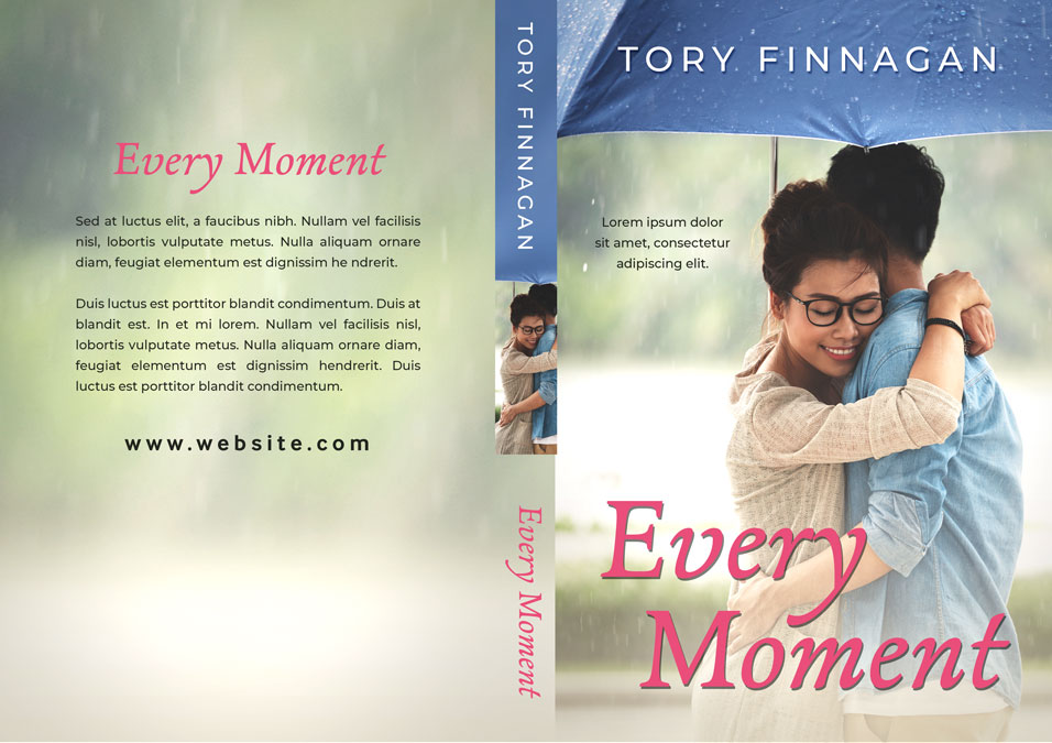 Every Moment - Asian-American Romance Premade Book Cover For Sale @ Beetiful Book Covers