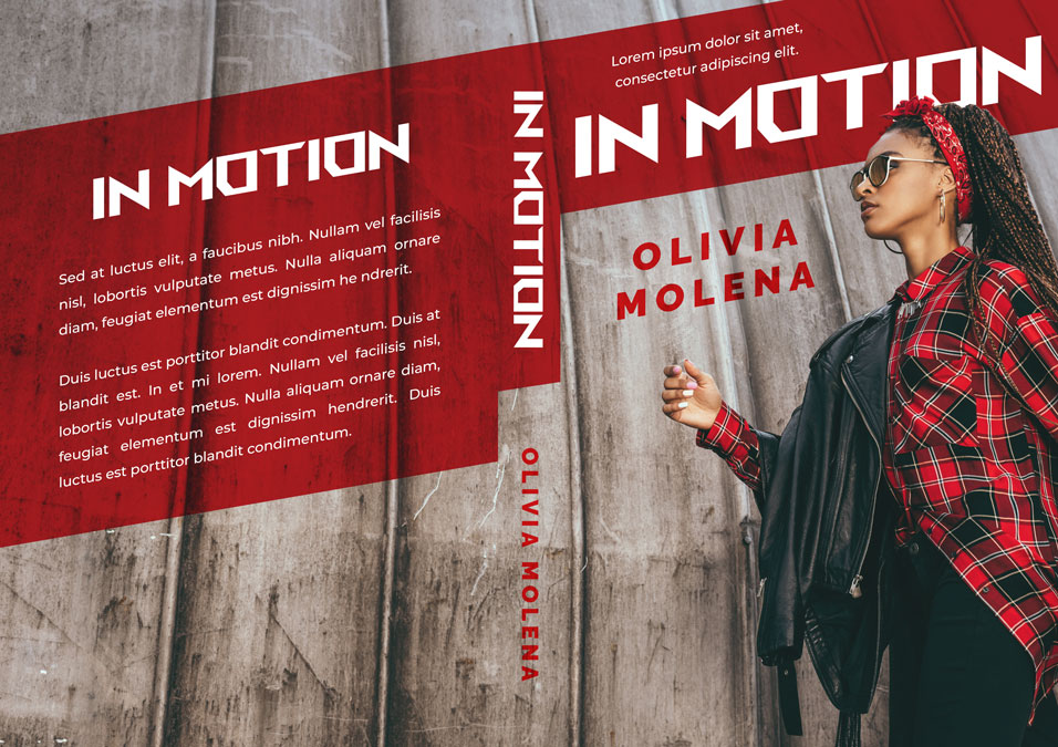 In Motion - African-American Fiction Premade Book Cover For Sale @ Beetiful Book Covers