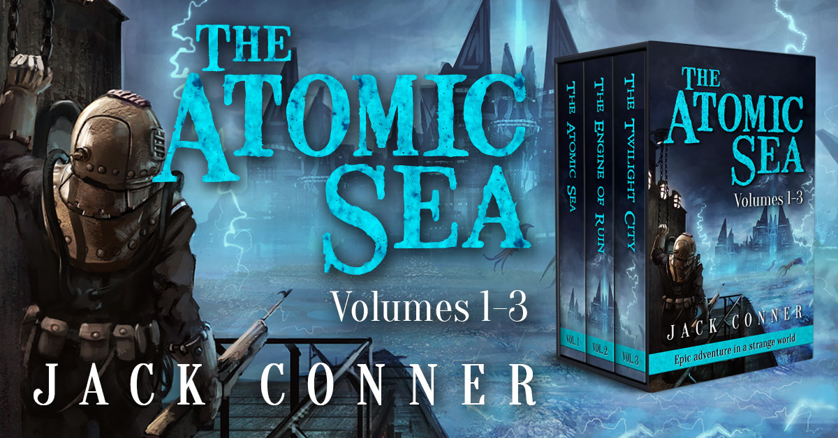 Showcase Spotlight: The Atomic Sea Box Set: Volumes 1-3 by Jack Conner