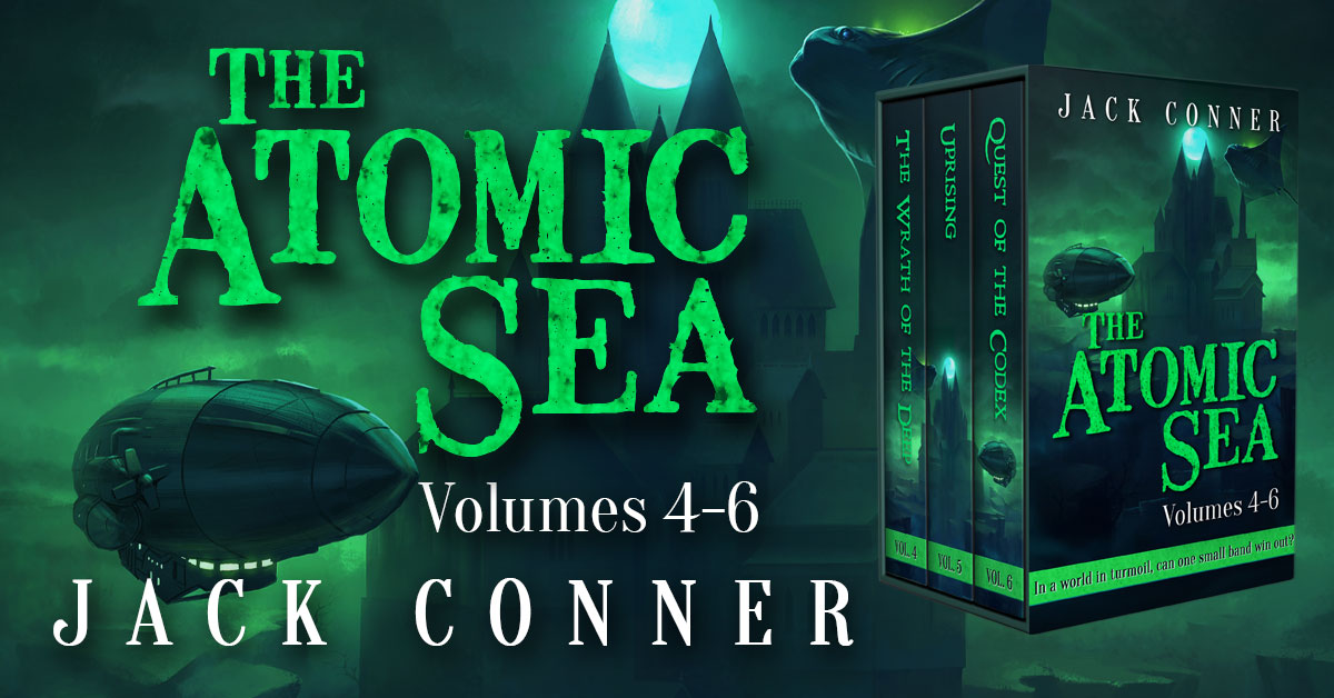 Showcase Spotlight: The Atomic Sea Box Set: Volumes 4-6 by Jack Conner