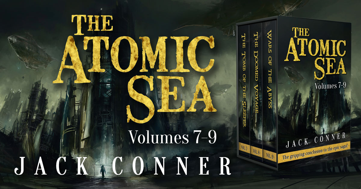 Showcase Spotlight: The Atomic Sea Box Set: Volumes 7-9 by Jack Conner
