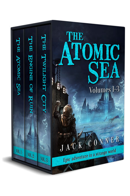 The Atomic Sea Box Set: Volumes 1-3 by Jack Conner
