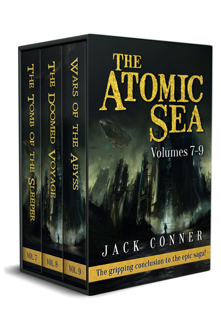 The Atomic Sea Box Set: Volumes 7-9 by Jack Conner
