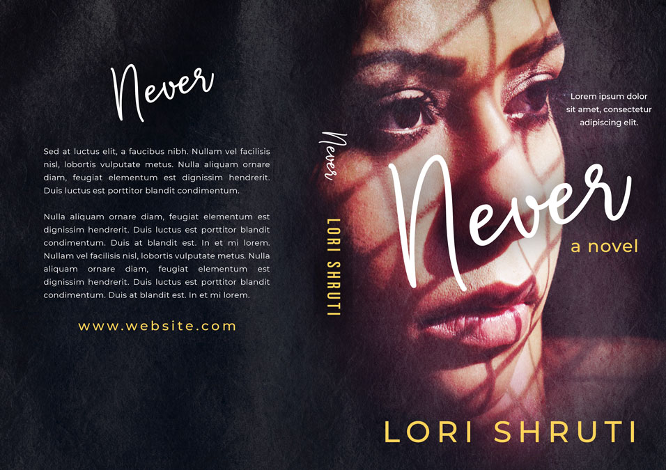 Never - Hispanic Premade Book Cover For Sale @ Beetiful Book Covers