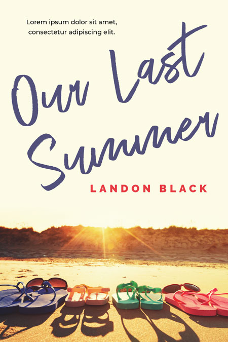 Our Last Summer - Young Adult Summer Premade Book Cover For Sale @ Beetiful Book Covers