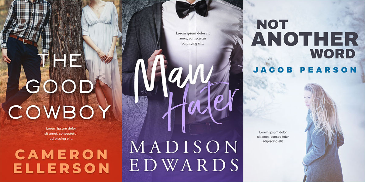 31 New Premade Book Covers