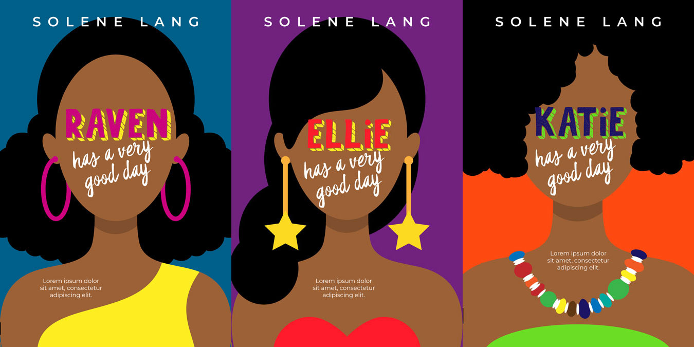 Series: A Very Good Day - African-American Chick-lit Romance Series Premade Book Covers For Sale - Beetiful