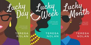 Series: Lucky - African-American Chick-lit Romance Series Premade Book Covers For Sale - Beetiful