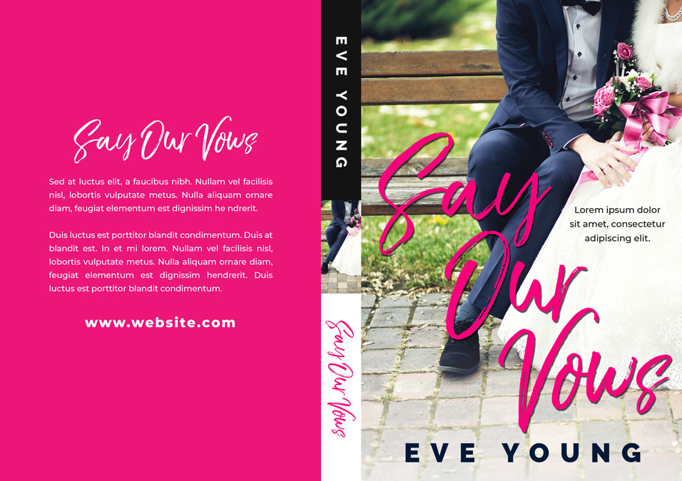 Say Our Vows - Contemporary Romance Premade Book Cover For Sale @ Beetiful Book Covers