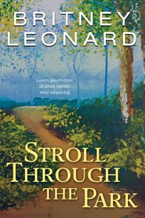 Stroll Through the Park - Fiction Premade Book Cover For Sale @ Beetiful Book Covers