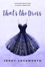 That's the Dress – Illustrated Young Adult Premade Book Cover For Sale @ Beetiful Book Covers