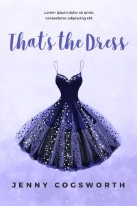 That's the Dress - Illustrated Young Adult Premade Book Cover For Sale @ Beetiful Book Covers