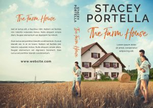 The Farm House - Country Contemporary Romance Premade Book Cover For Sale @ Beetiful Book Covers