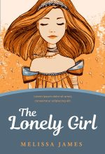 The Lonely Girl – Illustrated Middle-Grade Premade Book Cover For Sale @ Beetiful Book Covers