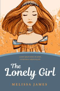 The Lonely Girl - Illustrated Middle-Grade Premade Book Cover For Sale @ Beetiful Book Covers