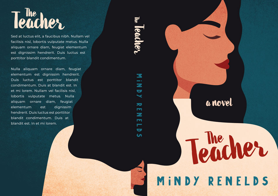The Teacher - Illustrated Premade Book Cover For Sale @ Beetiful Book Covers