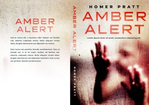Amber Alert - Mystery / Suspense / Thriller Premade Book Cover For Sale @ Beetiful Book Covers