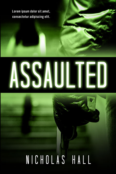 Assaulted - Mystery / Suspense / Thriller Premade Book Cover For Sale @ Beetiful Book Covers