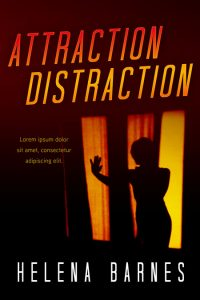 Attraction Distraction - Mystery / Suspense / Thriller Premade Book Cover For Sale @ Beetiful Book Covers