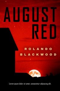 August Red - Mystery / Suspense / Thriller Premade Book Cover For Sale @ Beetiful Book Covers