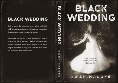 Black Wedding - Horror Premade Book Cover For Sale @ Beetiful Book Covers
