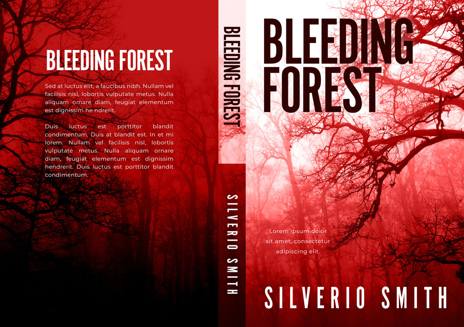 Bleeding Forest - Thriller / Horror Premade Book Cover For Sale @ Beetiful Book Covers