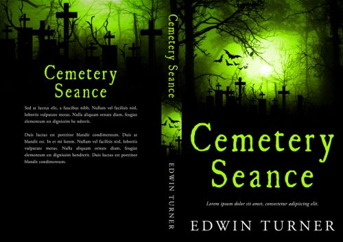 Cemetery Seance - Horror Premade Book Cover For Sale @ Beetiful Book Covers