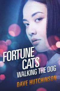 Fortune Cats Walking the Dog by Dave Hutchinson