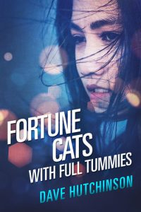 Fortune Cats With Full Tummies by Dave Hutchinson