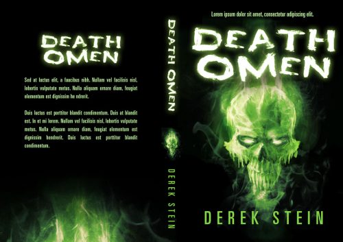 Death Omen - Horror Premade Book Cover For Sale @ Beetiful Book Covers