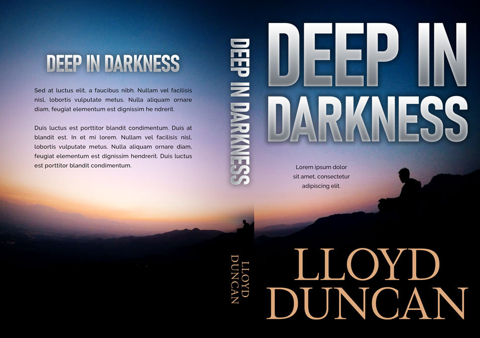 Deep in Darkness - Mystery / Suspense / Thriller Premade Book Cover For Sale @ Beetiful Book Covers