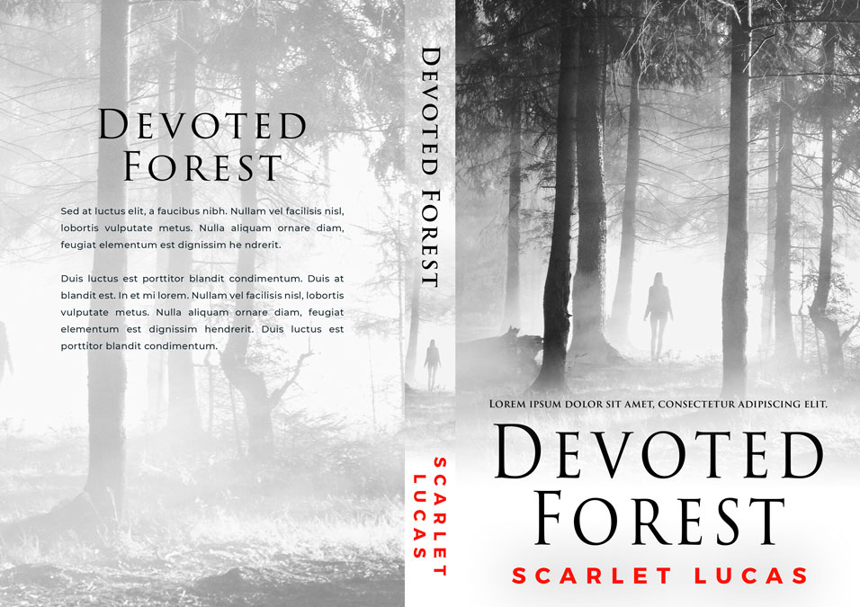 Devoted Forest - Mystery / Suspense / Thriller Premade Book Cover For Sale @ Beetiful Book Covers