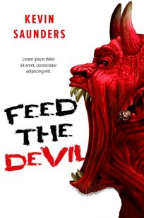Feed the Devil - Horror Premade Book Cover For Sale @ Beetiful Book Covers