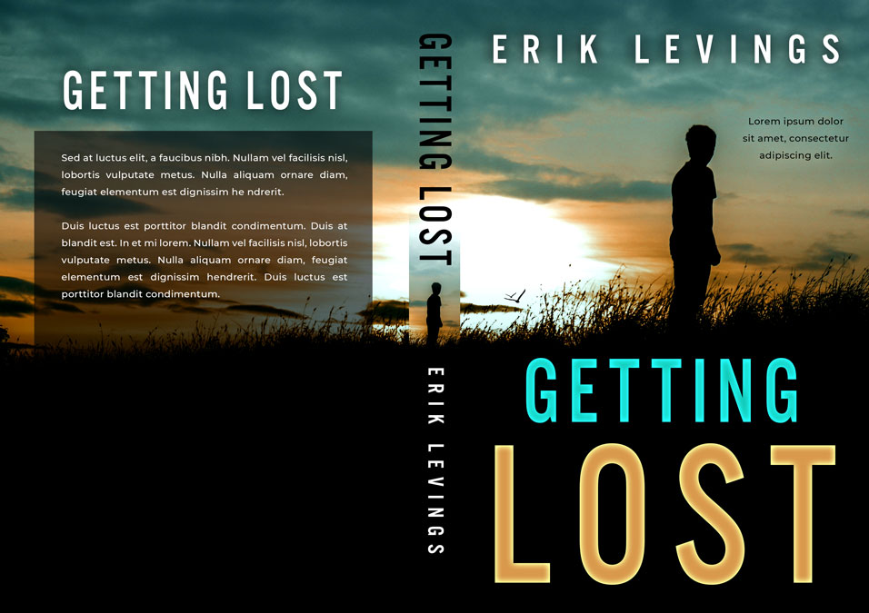 Getting Lost - Mystery / Suspense / Thriller Premade Book Cover For Sale @ Beetiful Book Covers