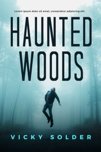 Haunted Woods - Horror / Thriller Premade Book Cover For Sale @ Beetiful Book Covers