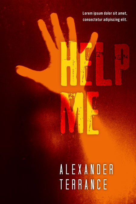 Help Me - Horror / Thriller Premade Book Cover For Sale @ Beetiful Book Covers