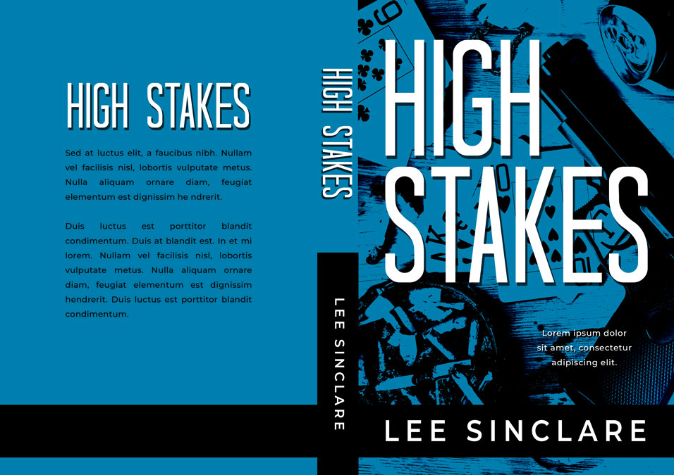 High Stakes - Action / Thriller Premade Book Cover For Sale @ Beetiful Book Covers
