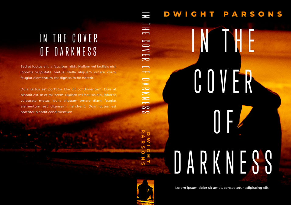 In the Cover of Darkness - Mystery / Suspense / Thriller Premade Book Cover For Sale @ Beetiful Book Covers