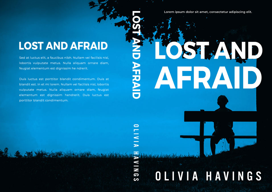 Lost and Afraid - Mystery / Suspense / Thriller Premade Book Cover For Sale @ Beetiful Book Covers