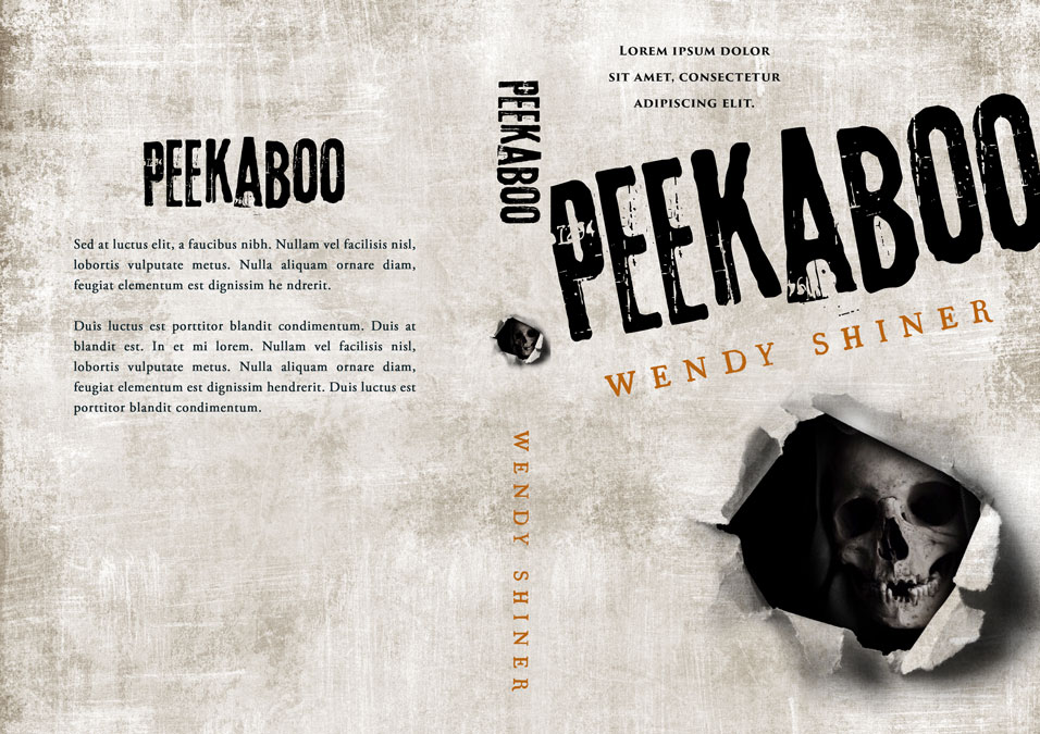 Peekaboo - Horror Premade Book Cover For Sale @ Beetiful Book Covers