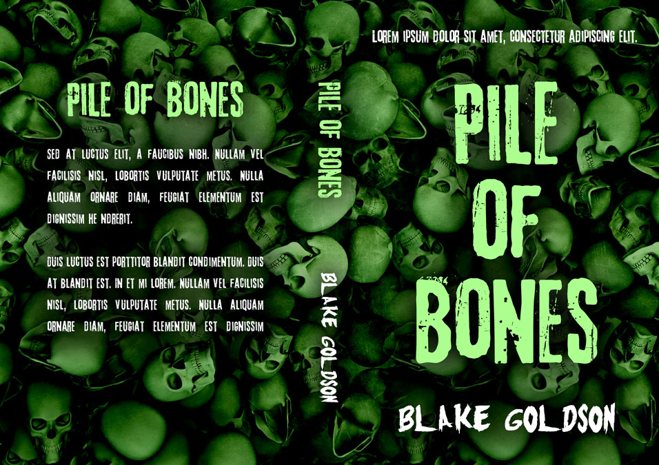Pile of Bones - Horror Premade Book Cover For Sale @ Beetiful Book Covers
