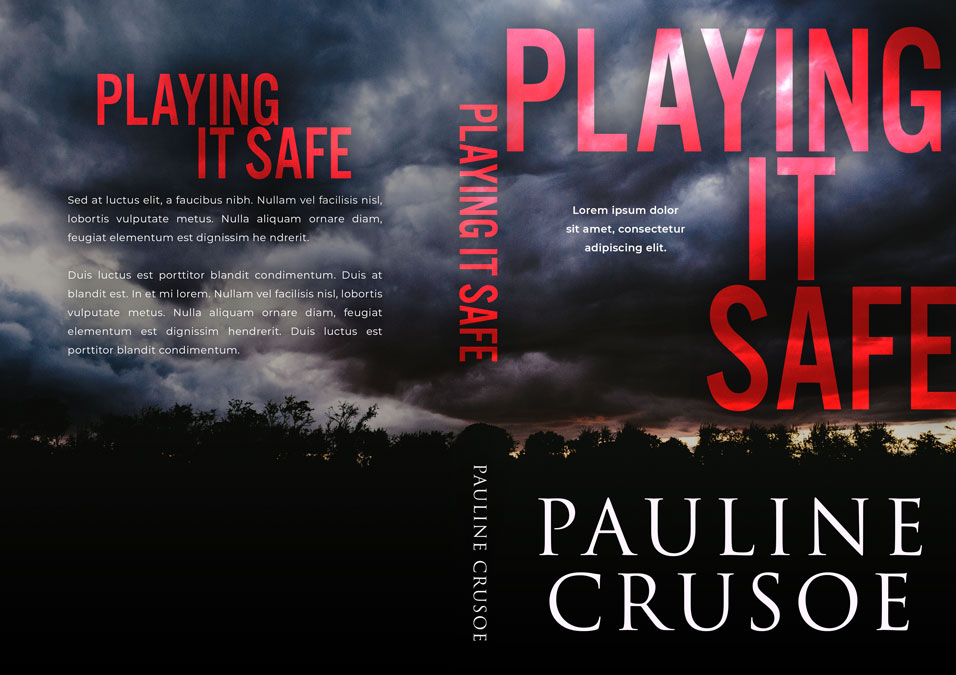 Playing It Safe - Mystery / Suspense / Thriller Premade Book Cover For Sale @ Beetiful Book Covers