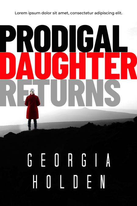 Prodigal Daughter Returns - Mystery / Suspense / Thriller Premade Book Cover For Sale @ Beetiful Book Covers
