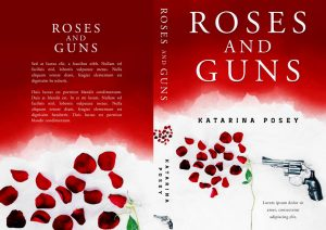 Roses and Guns - Action / Thriller Premade Book Cover For Sale @ Beetiful Book Covers